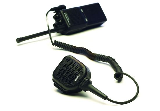 shoulder speaker microphone