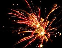 noisy fireworks
