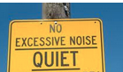 excessive noise